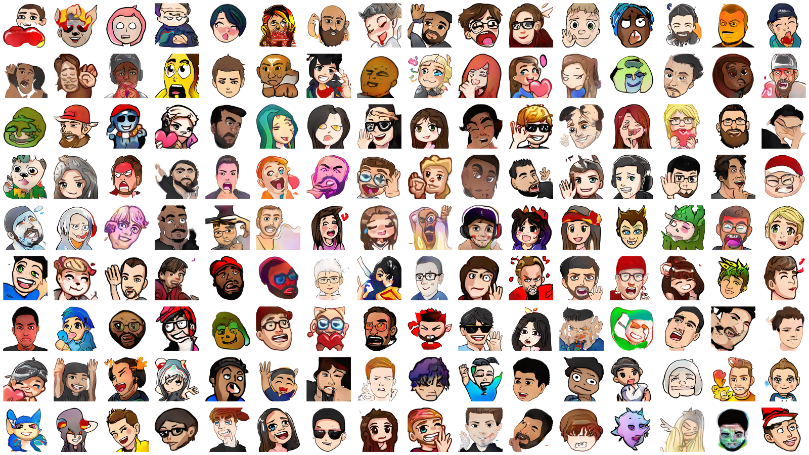 ThisEmoteDoesNotExist: Training a GAN for Twitch Emotes